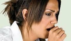 Аллергический кашель у девушки