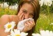 Девушка и аллергия