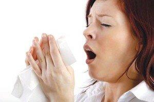 Чихание - один из симптомов