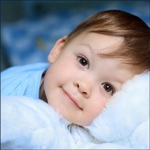 Здоровый и счастливый малыш