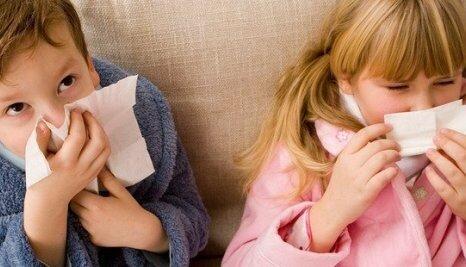 Детишки болеют ринитом