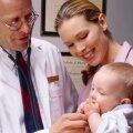Малыш на приеме у врача-аллерголога