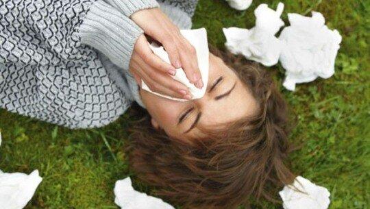 Мучения от аллергии