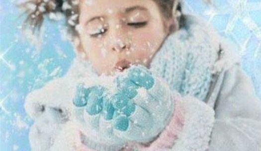 Девочка и снег