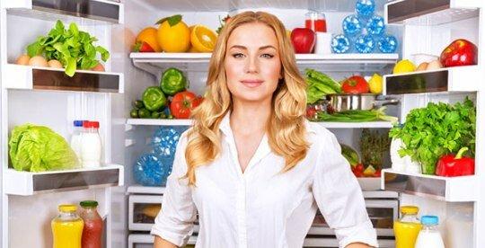 Вредные и полезные продукты в холодильнике