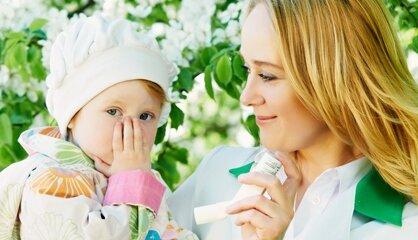 Маленький ребенок и использование ингалятора