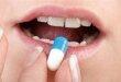 Прием капсулы с препаратом