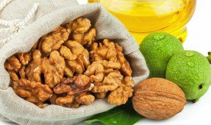 Грецкие орехи в рецептах народной медицины