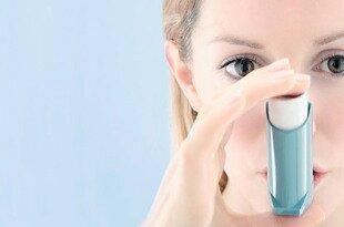 Использование ингалятора при бронхиальной астме